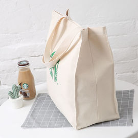 Recycle Shopping Canvas Bag Blank Organic Logo Digital Printed Cotton Canvas