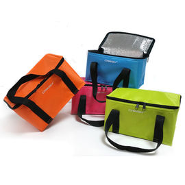 Promotional Colorful Lunch Cooler Bags 130g Weight With Customized Logo