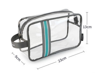 Sport Waterproofing Transparent PVC Bag Large Capacity Multicolored For Swimming
