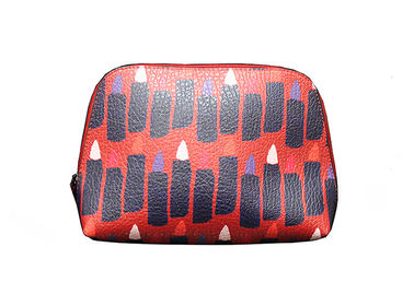 Eco Friendly Promotional Toiletry Bag Lipstick Printing For Young Girls