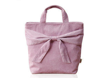Luxury Brand Vogue Ladies Handbags Customized Logo Polyester Material