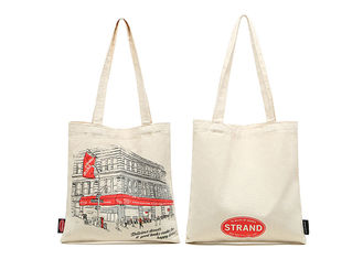 Faddish Personalized Canvas Tote Bags Washable Environmental Protection