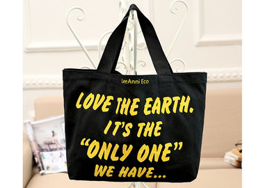 Blank Shopping Canvas Bag Heavy Duty Waterproof Sturdy With Logo Printing