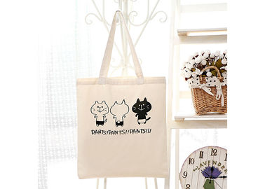 Calico Promotional Shopping Canvas Bag Fashionable Printing 37*40 CM Size