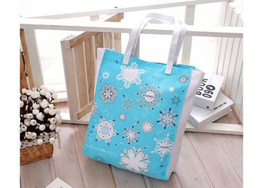 China Handle Shopping Canvas Bag Fashion Promotional Eco - Friendly OEM Logo supplier
