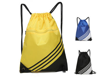 China Vibrant Sports Backpacks Multiple Colors 190T 210D Polyester With Zipper Pocket supplier