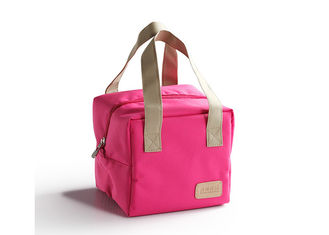 Eco Friendly Lunch Cooler Bags 300D Polyester Material For Unisex Adults