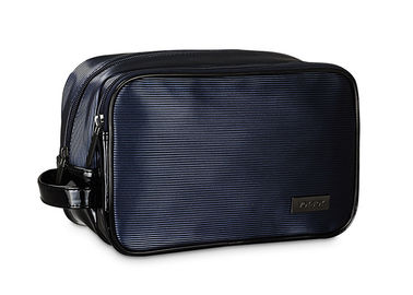 China 24x15x12.5cm Mens Toiletry Bag Comfortable Hand Held Exquisite Workmanship factory