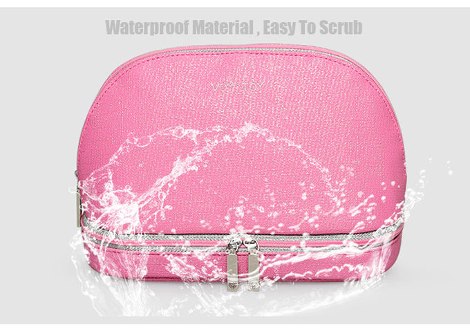 Shell Shaped Makeup Toiletry Travel Bags / Travel Makeup Pouch Easy Carry