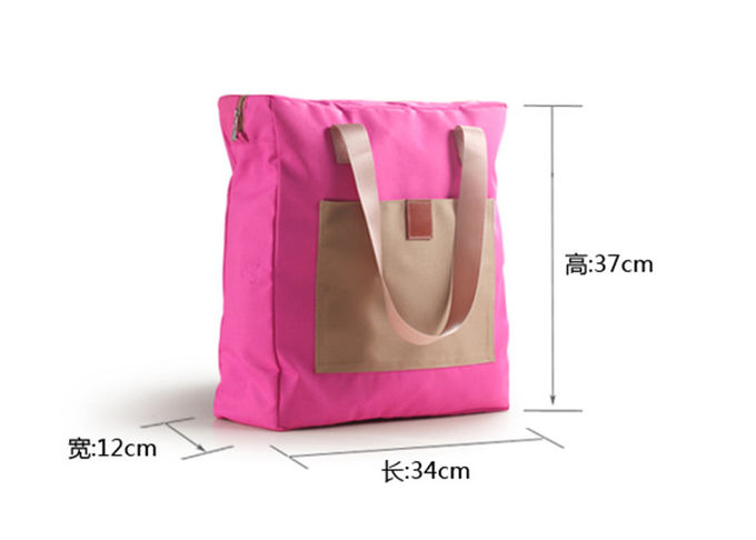 Large Capacity Canvas Duffle Bag , Sports Duffle Bags For Travel Luggage