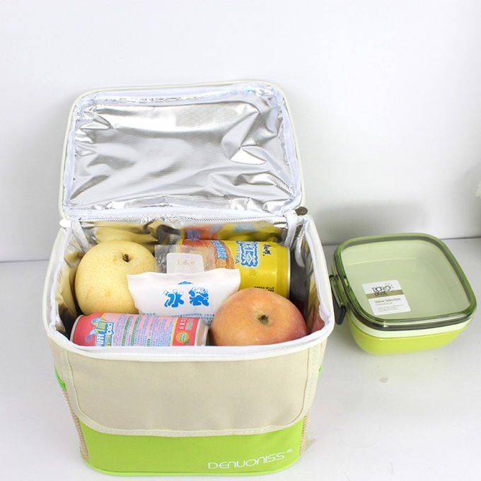 Big Capacity Lunch Cooler Bags Odorless Waterproof Fabric For Food Delivery